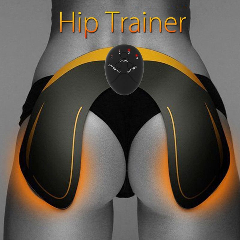 Remote Hip Muscle Body Trainer Buttock Lift Traning Push Up Stimulator Fitness