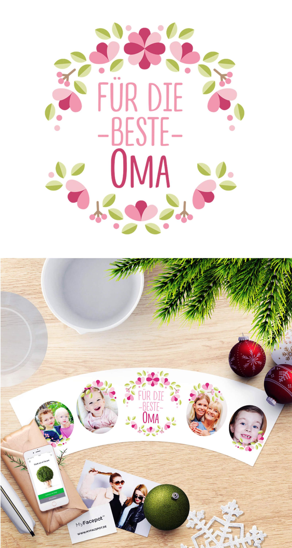 Blumentopf Weihnachtsgeschenke für Großmuttuer ❄ 🎄 Für die beste ...