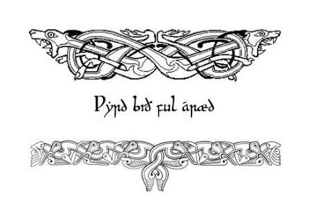 Anglo saxon tattoo designs google search tattoos for Saxon warrior tattoos