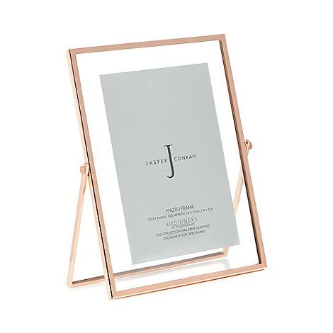 J by Jasper Conran Rose gold hinged photo frame | Debenhams | Home ...