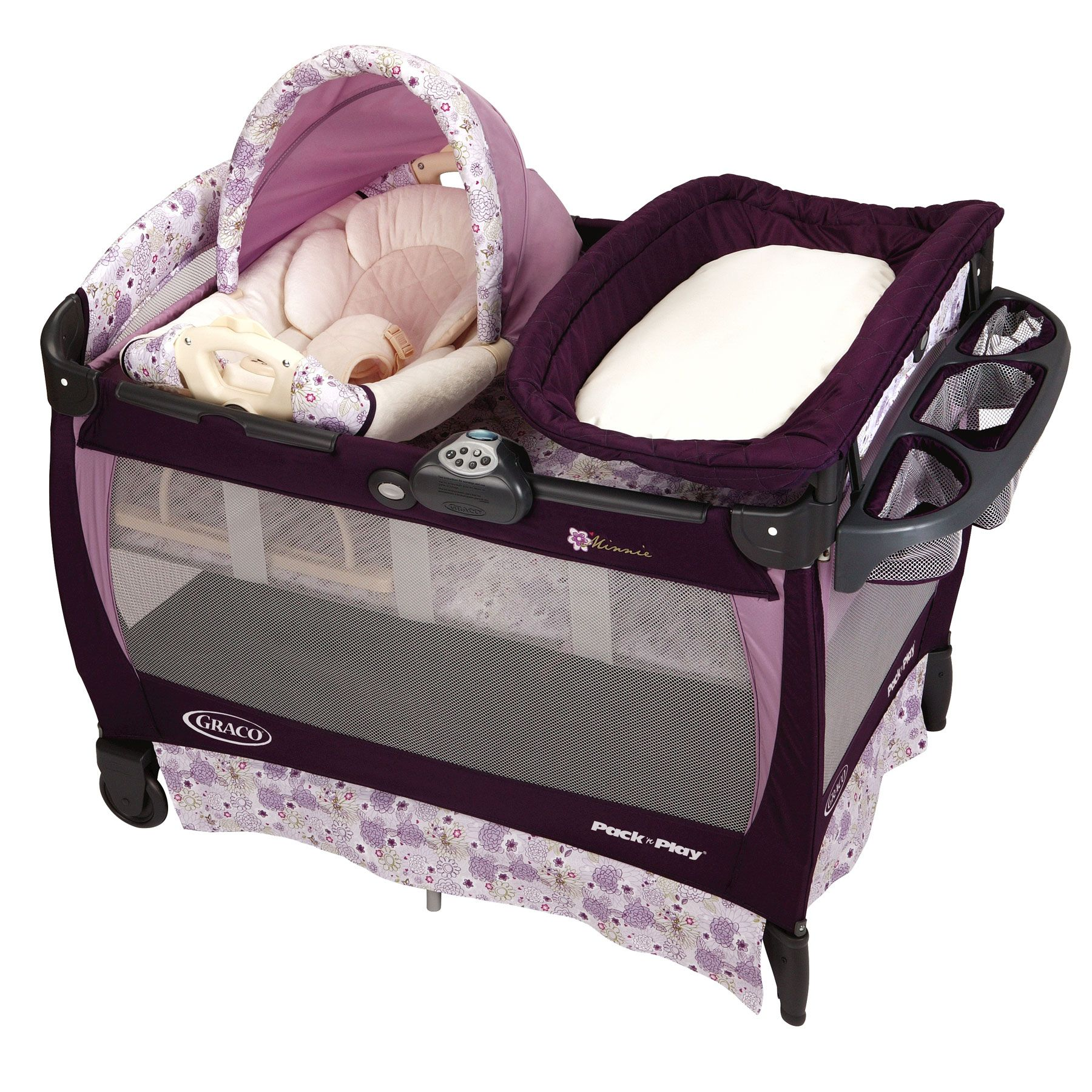 Pack N Play Bassinet Changing Table And Playpen Baby