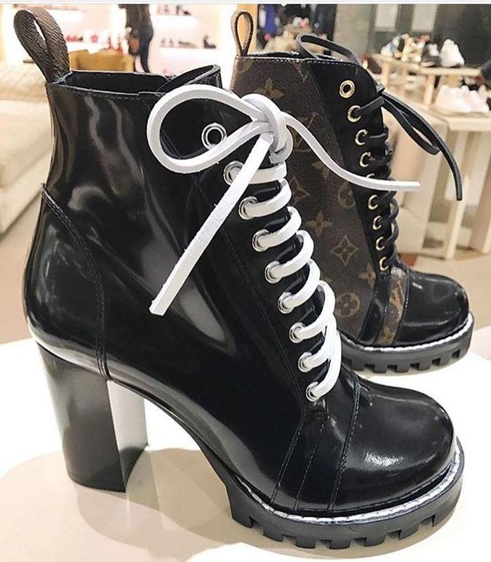 "581d9f8f6f3c Louis Vuitton ""Star Trail"" ankle boots Lv Shoes"