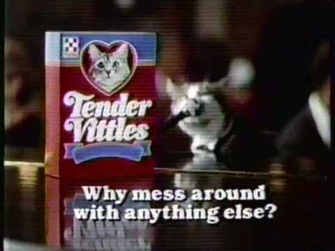 1987 Tender Vittles Cat Food Commercial Youtube Purina Friends