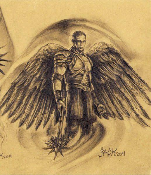 archangel gabriel tattoo quoteko beards pinterest archangel gabriel tattoo and daughter. Black Bedroom Furniture Sets. Home Design Ideas