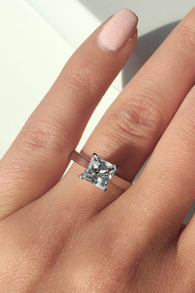 36 Simple Engagement Rings For Girls Who Love Classic Style