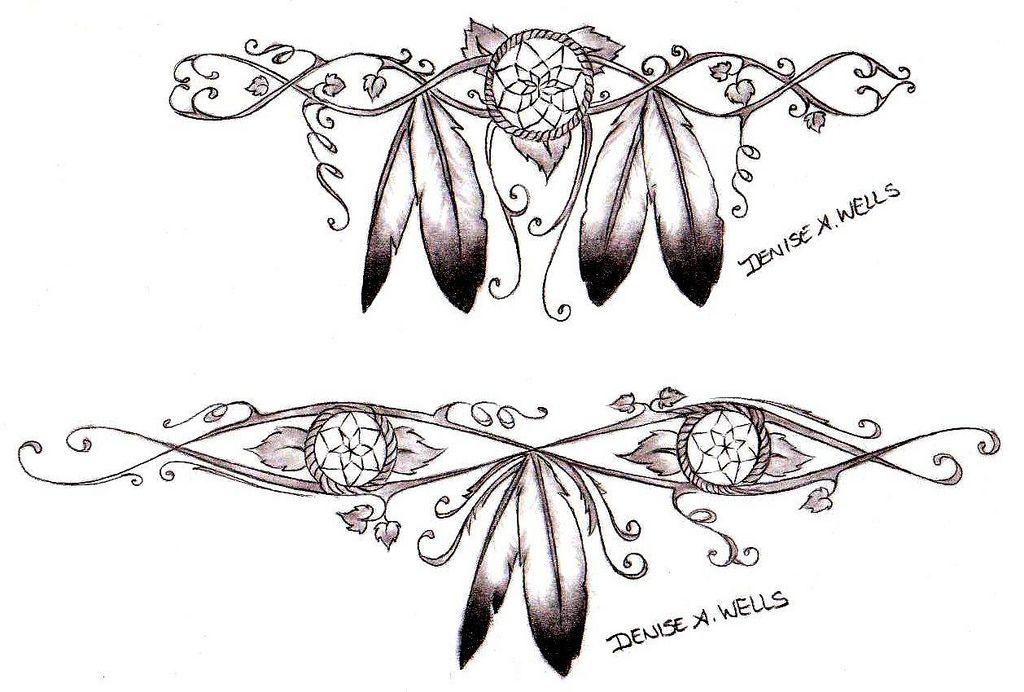Cherokee native american tattoos
