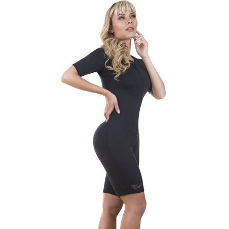 efa60a75faf Neo Sweat Slimming Sauna Full Body Suit Sports Neoprene with Sleeves Body  Shaper for Gym Yoga