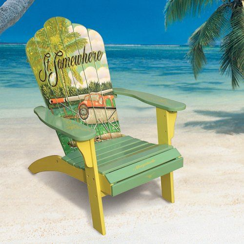 Painting new adirondack chair and adding artwork for Outdoor furniture hwy 7