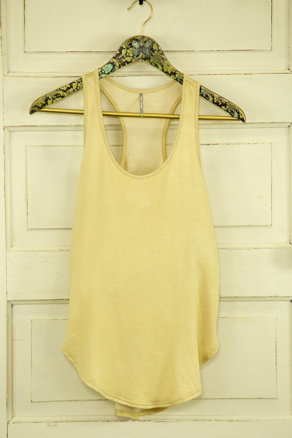 French Terry Racerback Tank Top