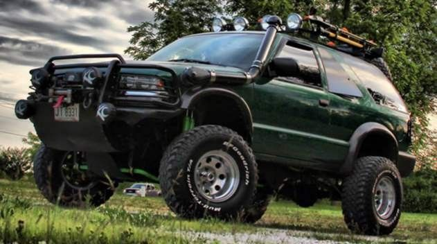 superlift 1998 04 chevy s10 blazer zr2 gmc s15 jimmy highrider 6 lift kit superide shocks ford pickup trucks chevrolet blazer chevrolet 4x4 superlift 1998 04 chevy s10 blazer zr2