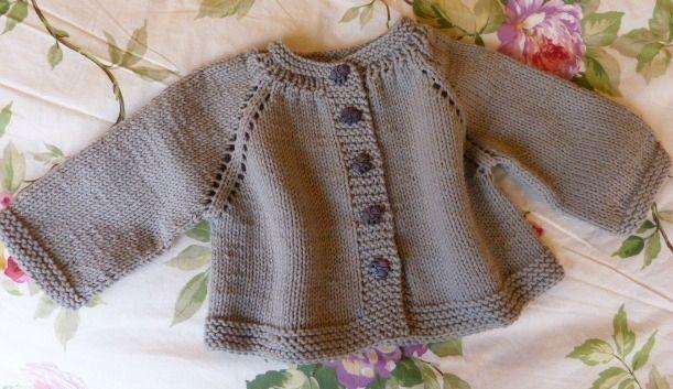 modele tricot layette 6 mois