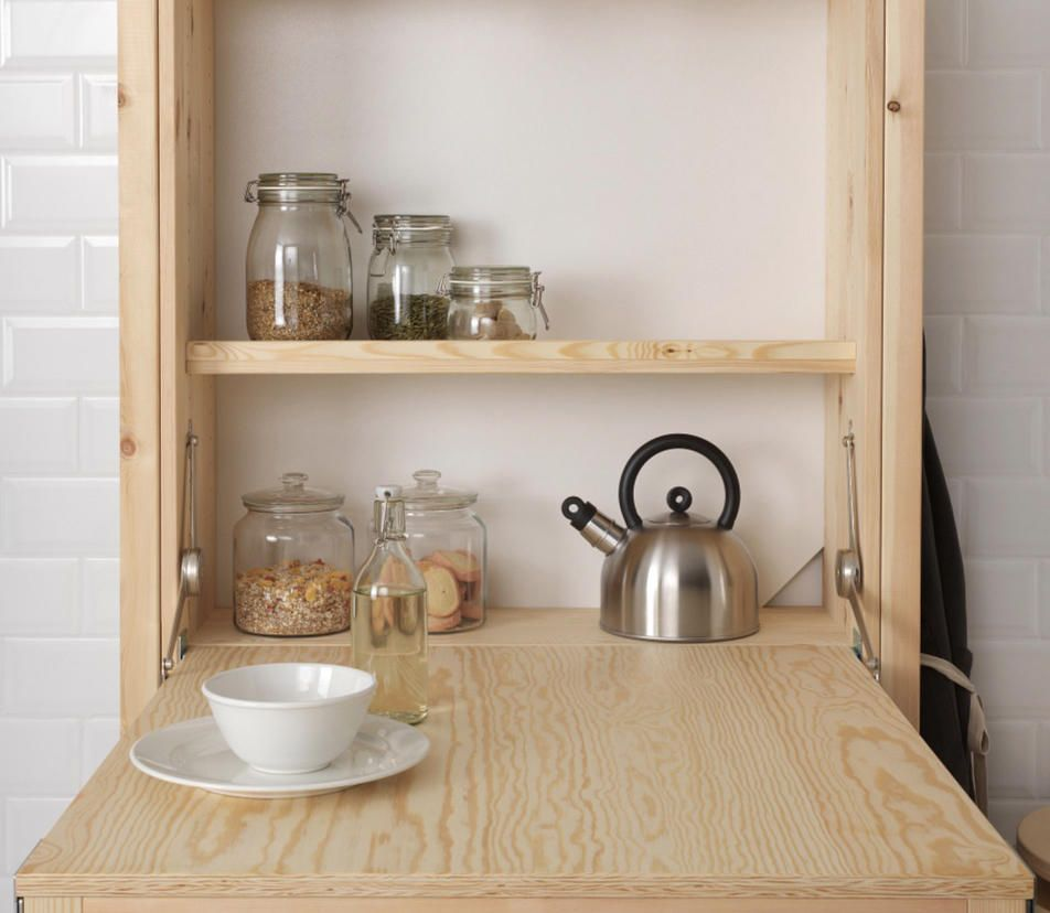 New to Ikea The Cool Foldable Table Every Small Kitchen Needs ...