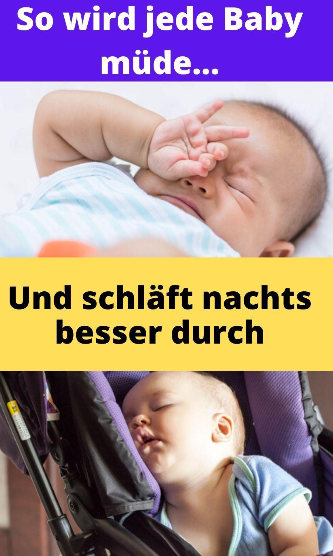 So wird jedes Baby müde