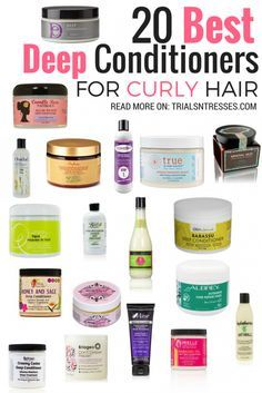 20 Best Deep Conditioners For Curly Hair Natural Hair Styles