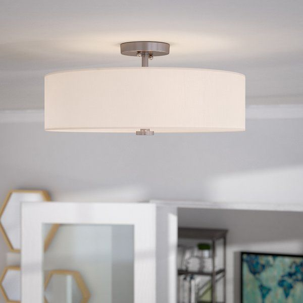 Streamlines And Stylish, This Fab Four Light Semi Flush Mount Illuminates  Your Space. Dining Room ...