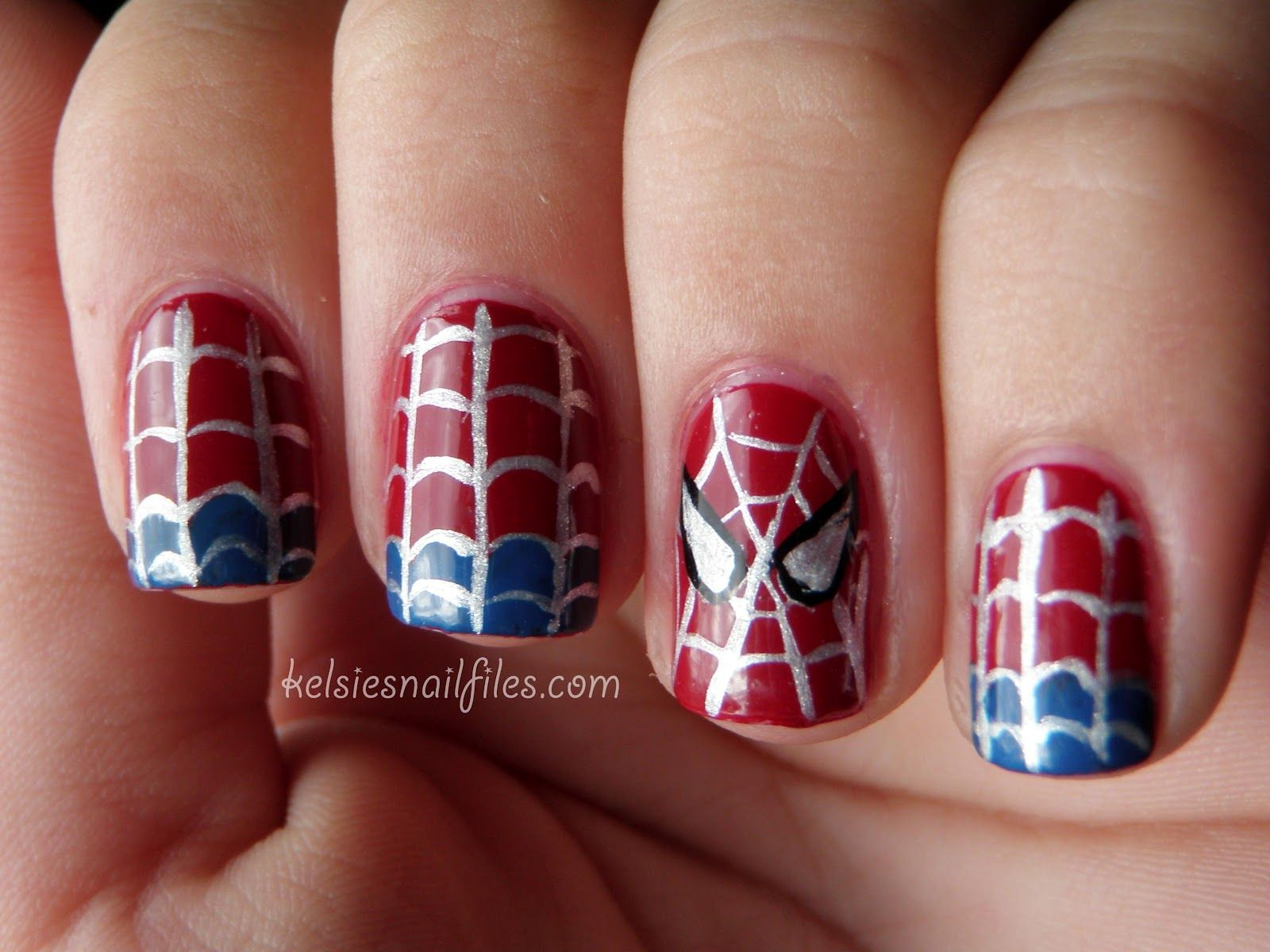 Cute for my sister in law!!!!   nails   Pinterest   Hombre araña