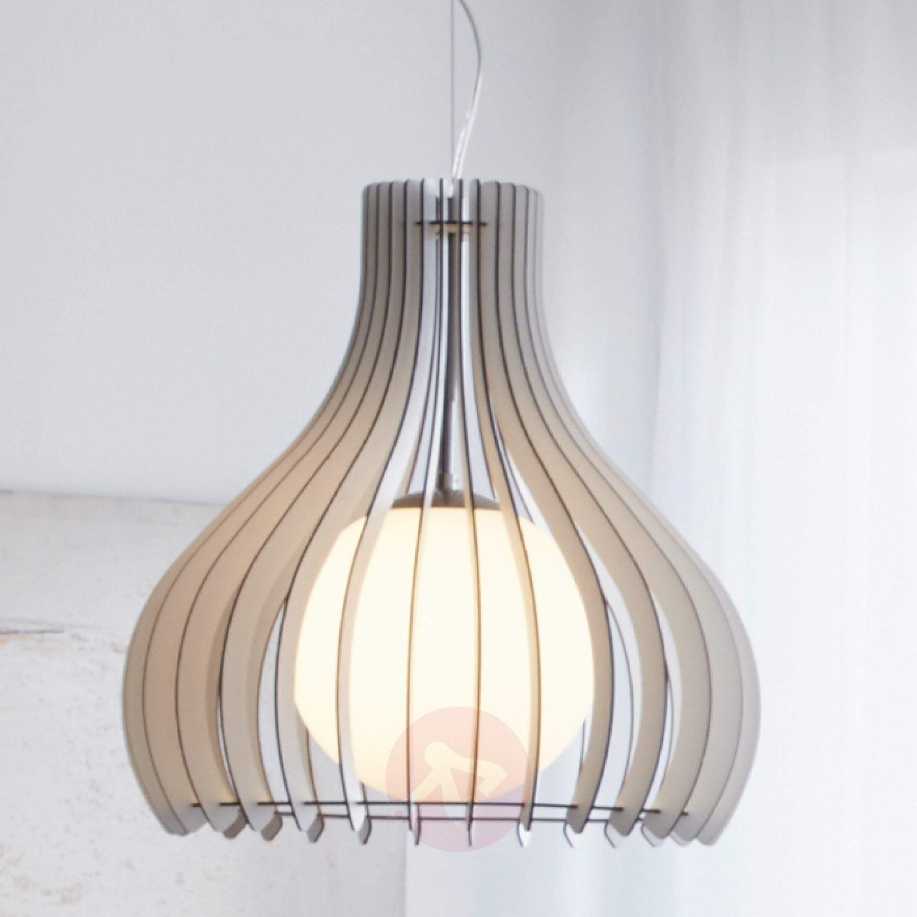 Tindori Slatted Wood Pendant Pendants Indoor Lighting Large Pendant Lighting Pendant Light Fixtures Pendant Light