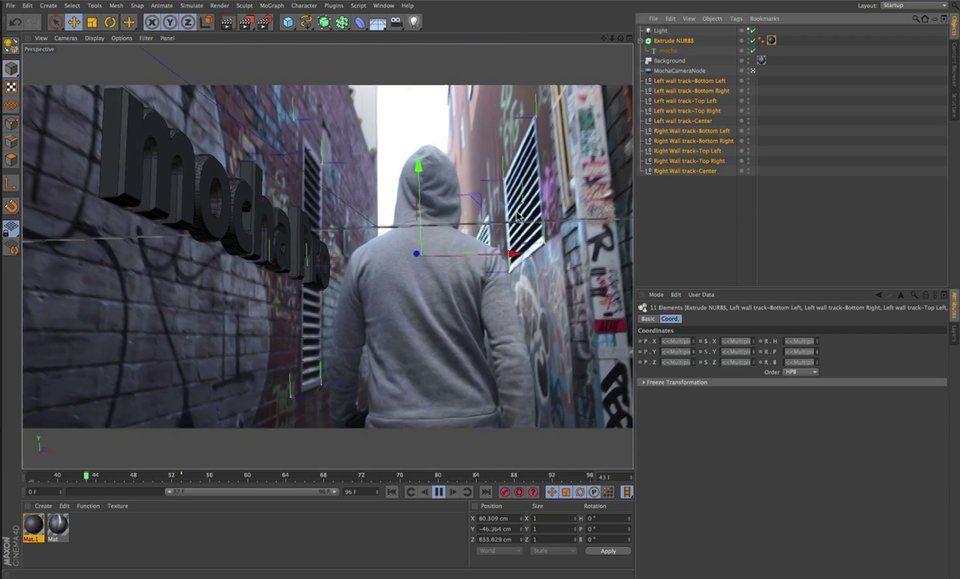 Mocha Pro Cinema 4d Exporting 3d Camera Tracking To Maxon