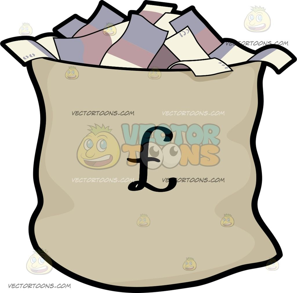 a bag of british pounds money clipart rh pinterest com Autopsy Pictures Howard Hughes Howard Hughes Recluse