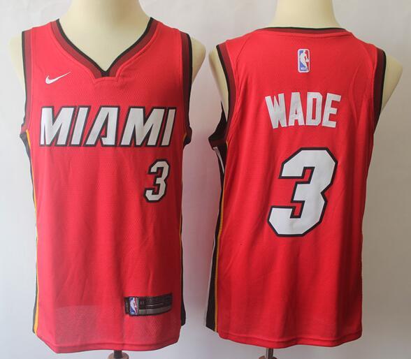 Dwyane WADE Basketball T-shirt MIAMI HEAT jersey #3 Long Sleeve Tee
