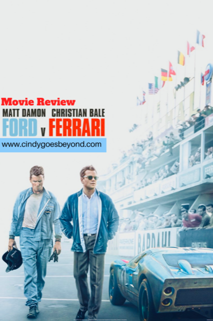 Movie Review Ford V Ferrari Christian Bale Ferrari Ford