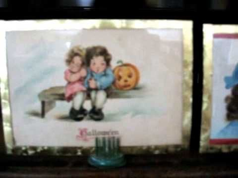 A variety of ideas for using your antiques in your Halloween Holiday ...
