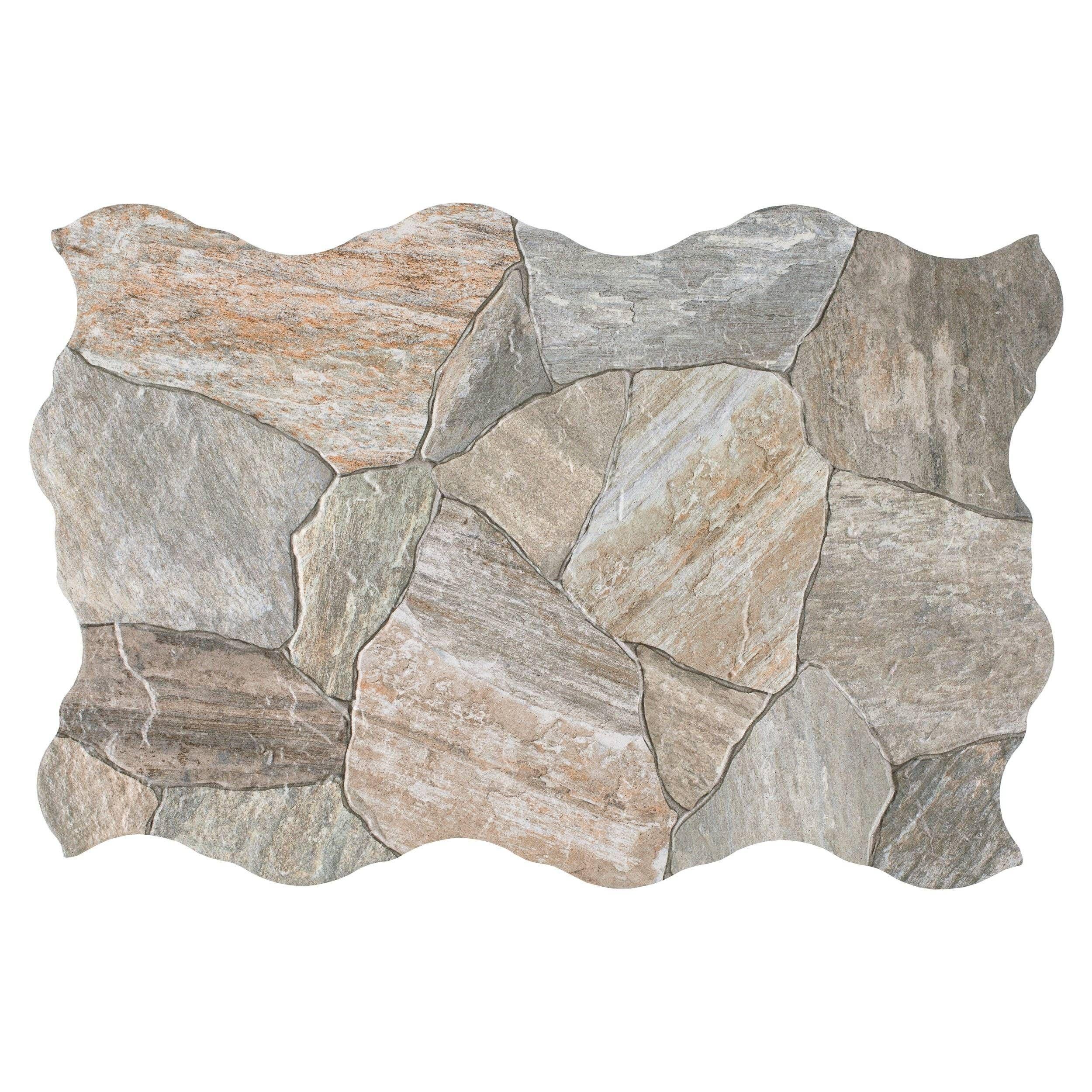 deva gris porcelain tile floor