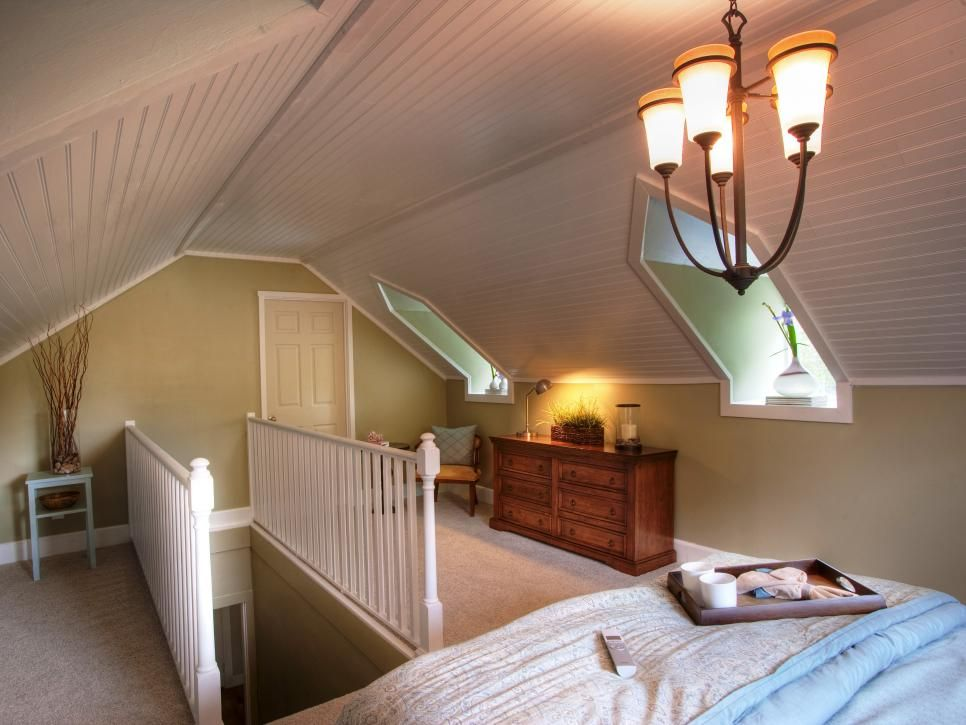 Run My Renovation: An Unfinished Attic Becomes a Master Bedroom