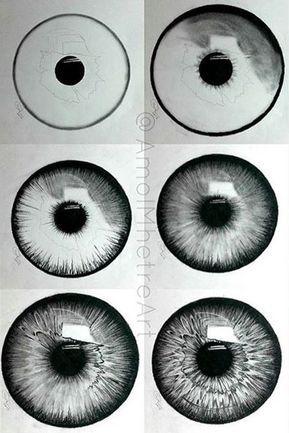 Beautiful eye shading pencil art drawing. Source! Sukanda Srisaneporn saved to Goal. by saleemrizvi266