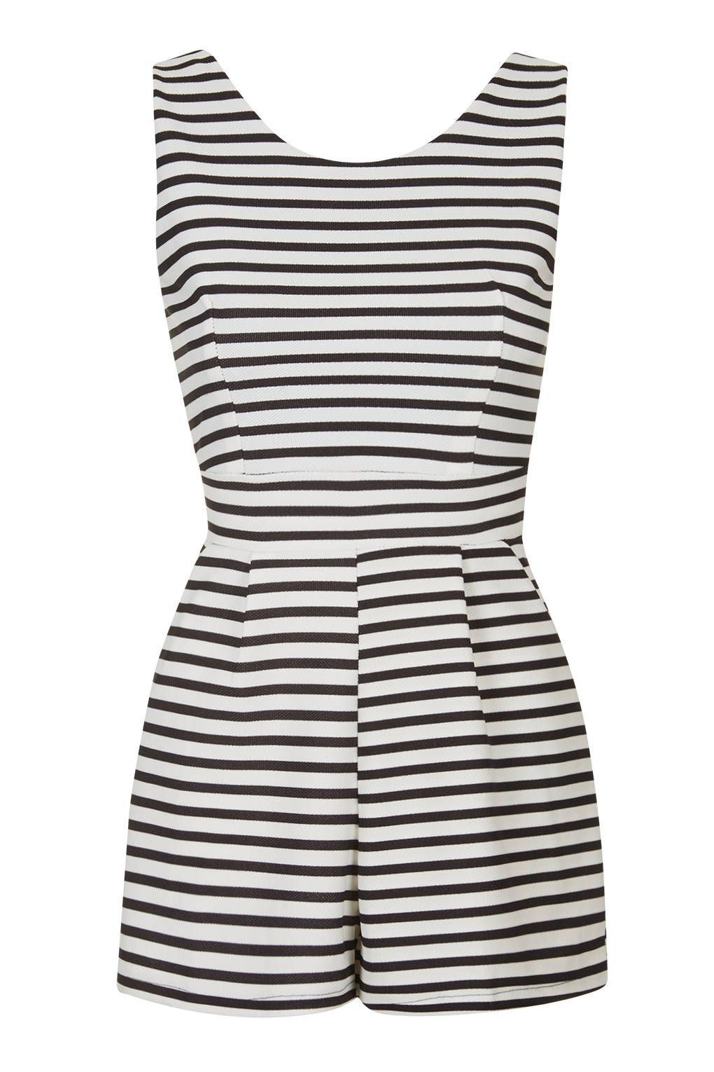 e4dafc2a5b3   Sleeveless Stripe Playsuit by Wal G - New In This Week - New In - Topshop