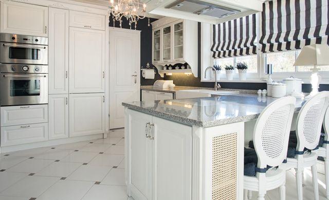 Bildergebnis für küche schwarz weiß landhaus Home \ Garden - kchen weiss landhausstil modern