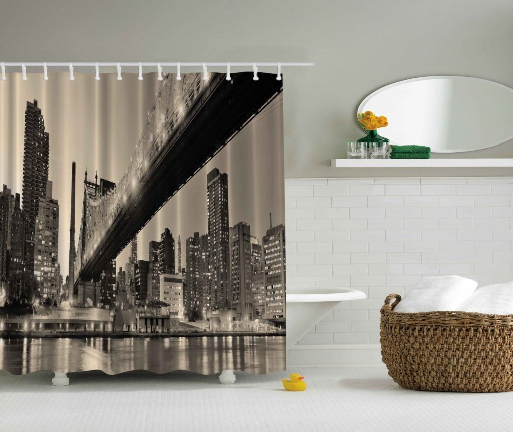 Nyc Themed Bathroom Accessories With Images Modern Shower