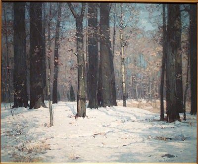 One Objectivist's Art Object of the Day: Unknown painting by John F. Carlson