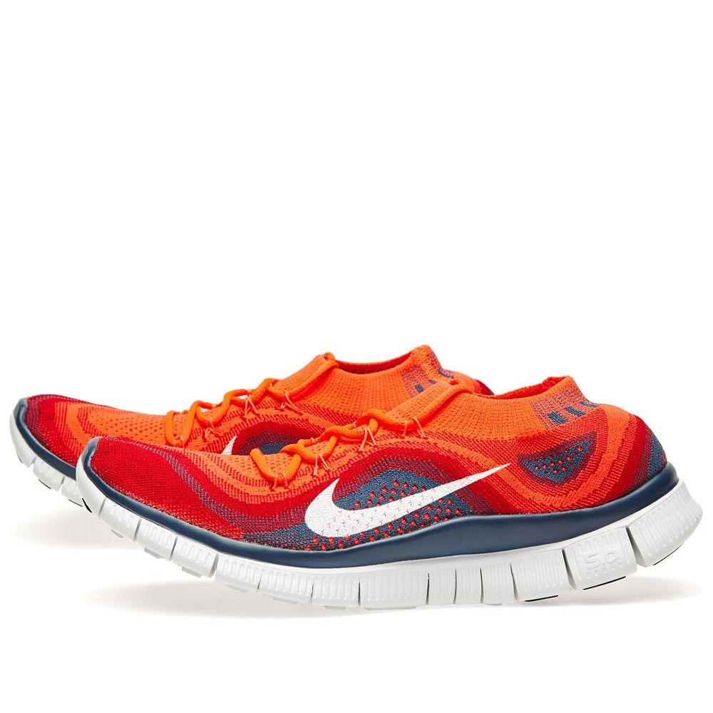 quality design 7f783 b35b3 Nike Free Flyknit+ (Bright Crimson   White) Nike Free Flyknit, Man Fashion,