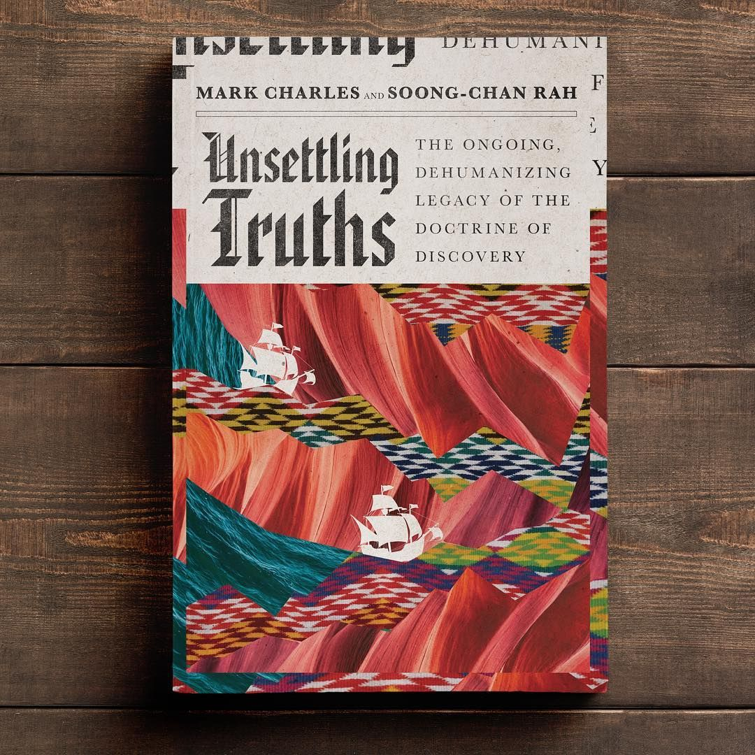 Drawing Bookcover Design: Unsettling Truths Book Cover Design By David Fassett