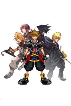 Sora Roxas Ventus Vanitas Sora Kingdom Hearts Kingdom Hearts Ii Character Art