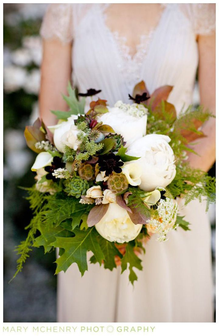 Jess S Wonderful Organic Bouquet With Peonies Chocolate Cosmos
