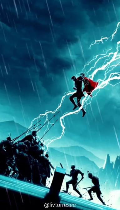 Wallpaper Animado Thor In 2020 Thor Wallpaper Marvel Iphone Wallpaper Superhero Wallpaper Iphone