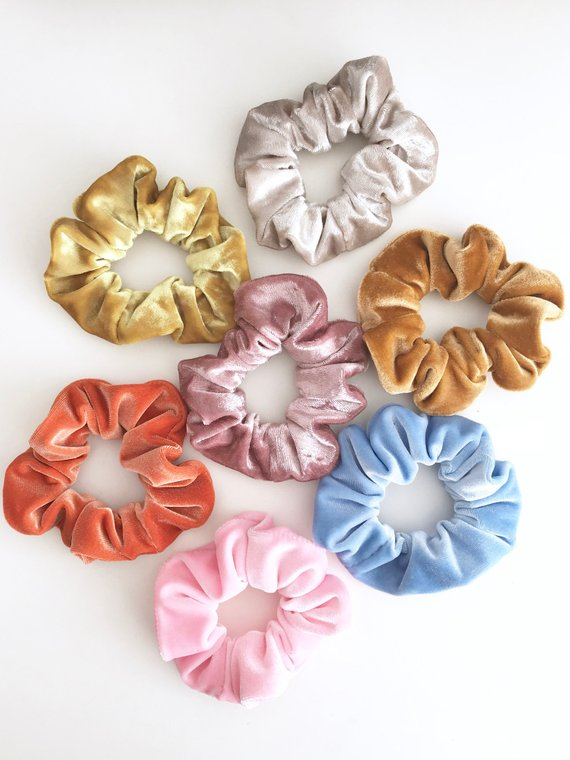 2PCS Lux Accessories Pink and White Fabric Pom Pom Hair Clip Set