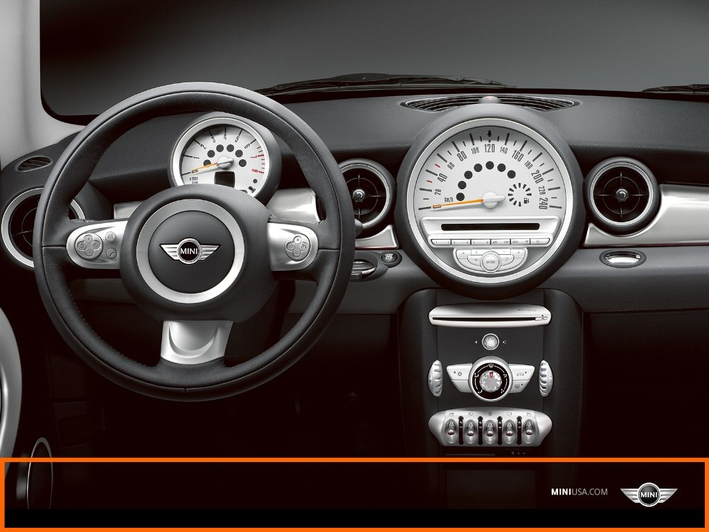 Black White Trim Mini Cooper Seat 2008 News Pictures Specifications