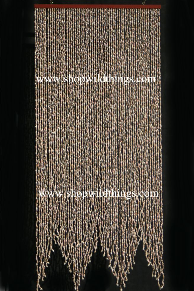 Real Shell 60 Strands Beaded Curtain Mama S Closet