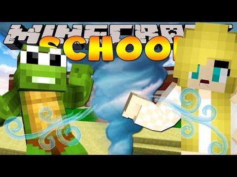 Minecraft School - TORNADO HITS THE SCHOOL! - YouTube