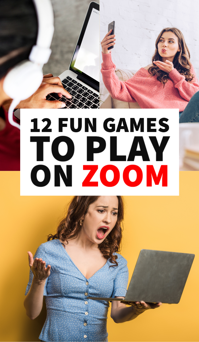 17 Fun Games You Can Play On Zoom + Other Conference Calls