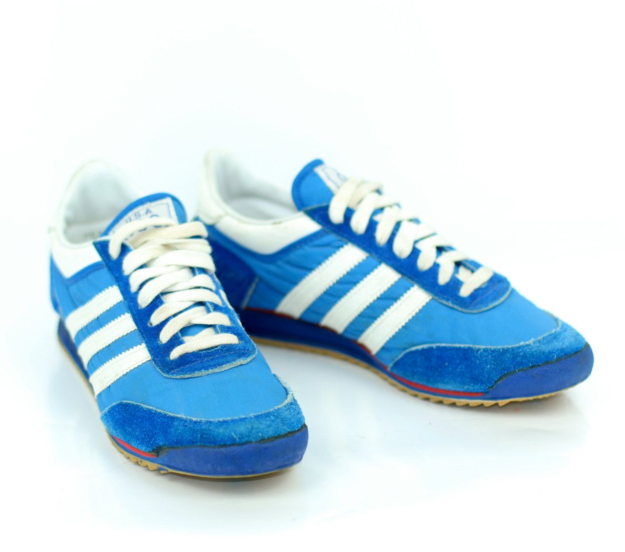 JCPenney 3 stripe adidas style sneakers