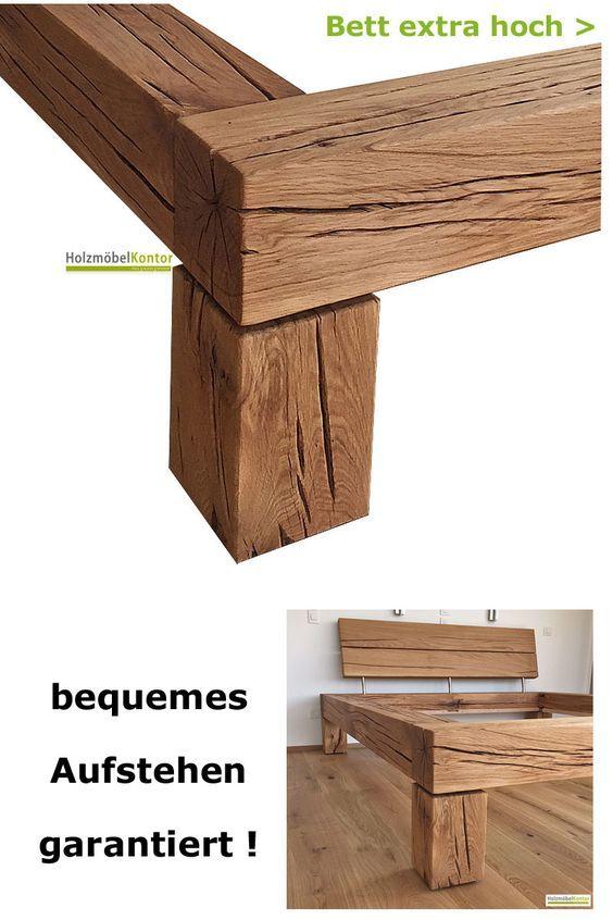 Bett extra hoch Bett selber bauen, Diy möbel bett und