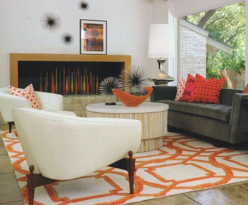8 Neu Dekoideen Wohnzimmer orange DEKO Pinterest
