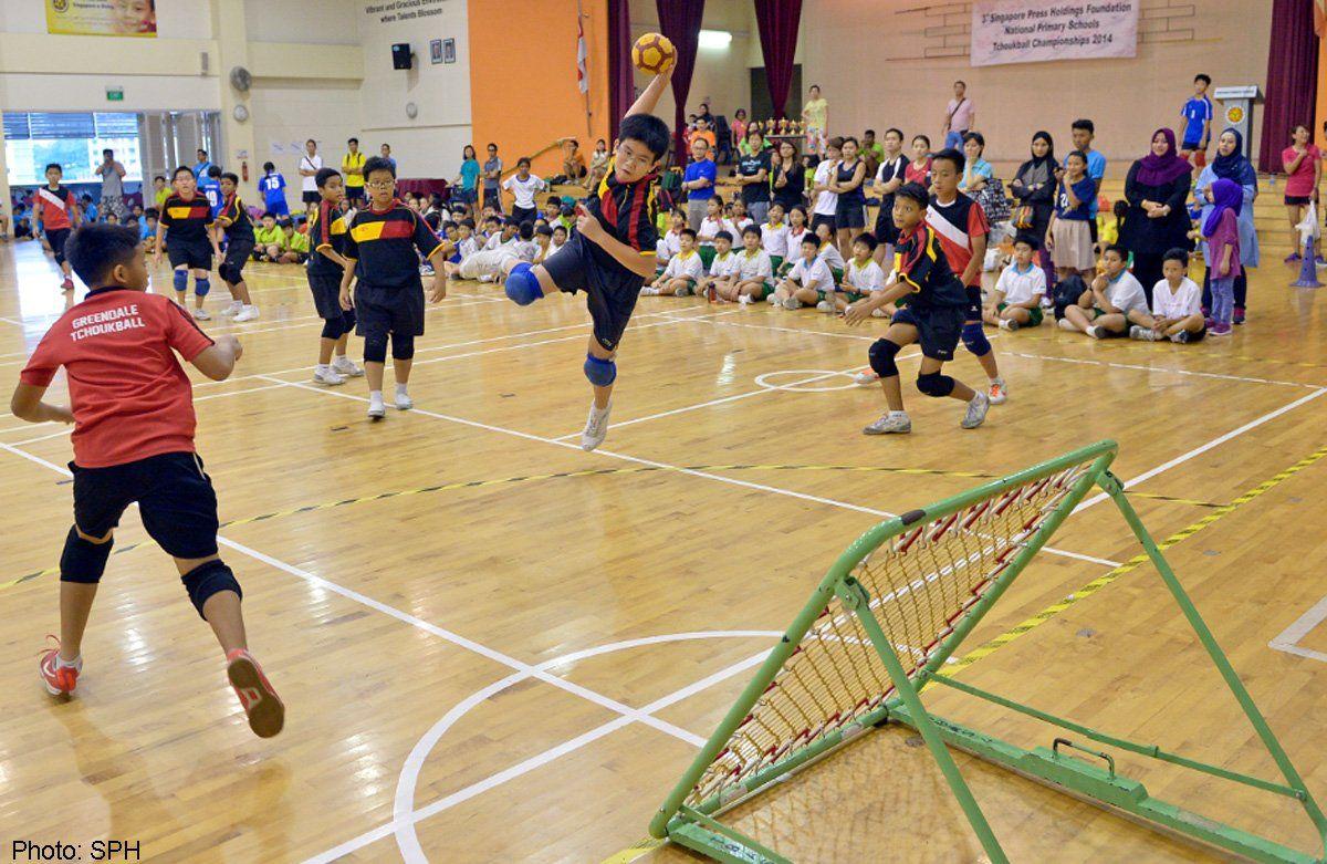 School Games on School games, Basketball court, Sports