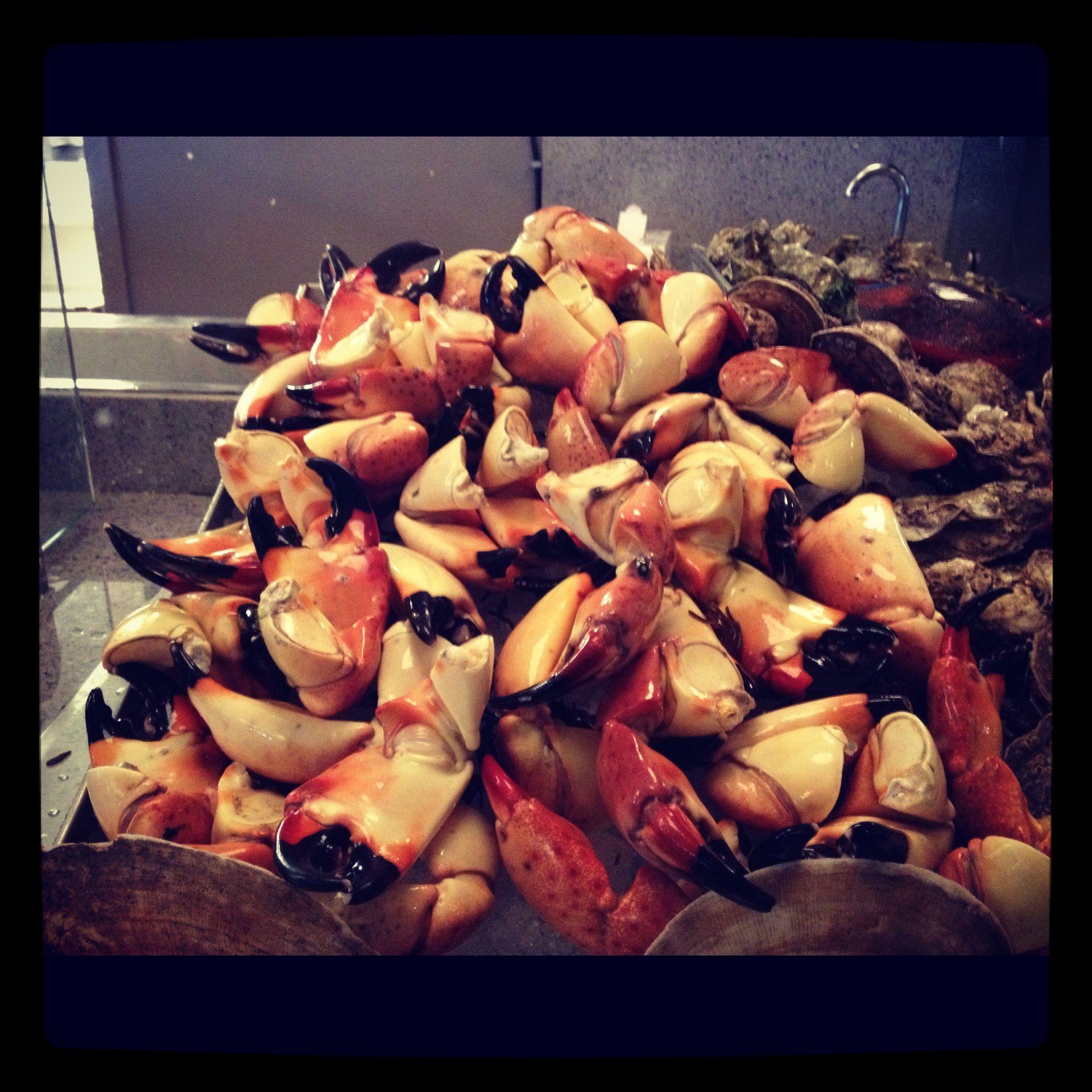 La Gloutonnerie is now serving fresh FL stone crabs.