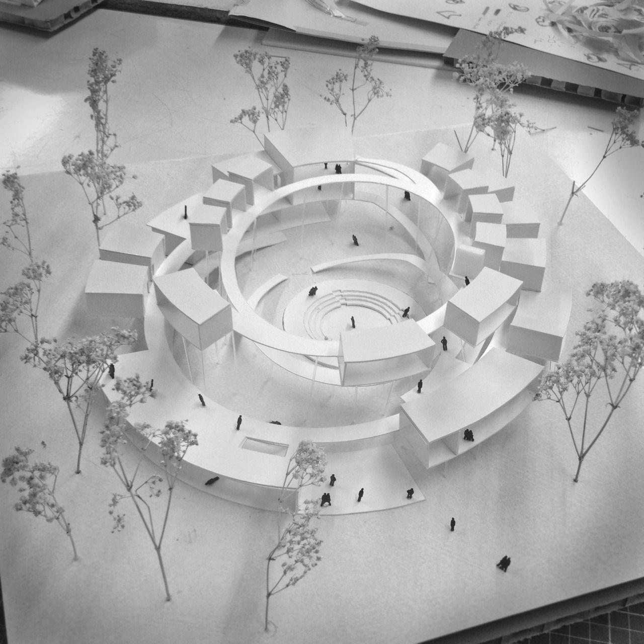 Concept model concept pinterest models architecture for Architectural concept models