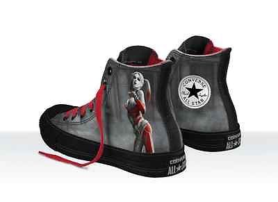 a2a155f3ec5a Converse Chuck Taylor ALL STAR Hi Mens Shoes Arkham City Batman Harley  Quinn New